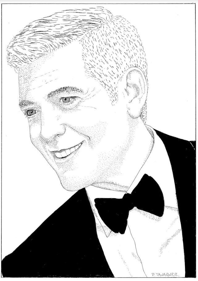 George Clooney by P.Tavarner